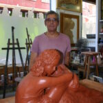 Escultura y Herminio